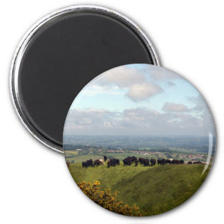 On Top Cley Hill Refrigerator Magnet