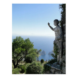 On Top of Capri Post Card