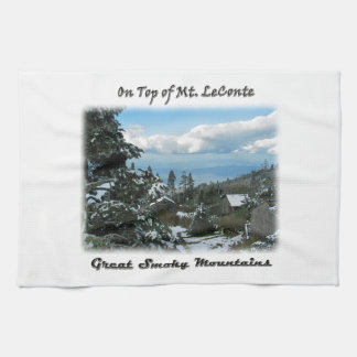 On Top of Mt. LeConte GSM Photo Art Kitchen Towels