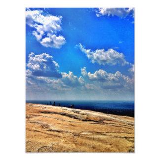 On Top Of Stone Mountain Photo Art