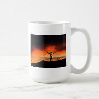 On Top of the Mountain Coffee Mug