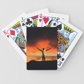 On Top of the Mountain Playing Cards