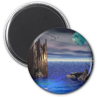 On top of the World 2 Inch Round Magnet