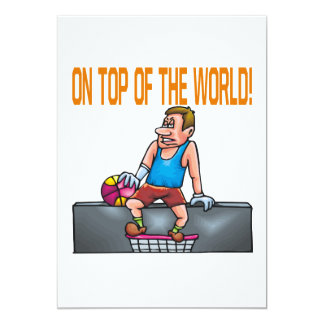On Top Of The World Card