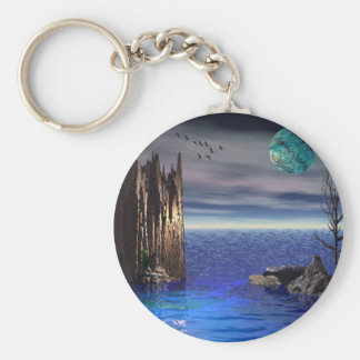 On top of the World Keychain