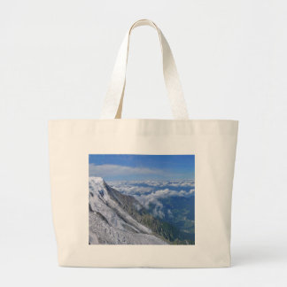 On Top Of The World - Looking Down Canvas Bags
