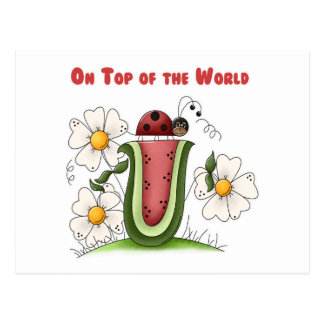 On Top of the World Postcard
