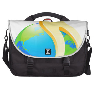 On top of world commuter bag