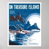 On Treasure Island poster