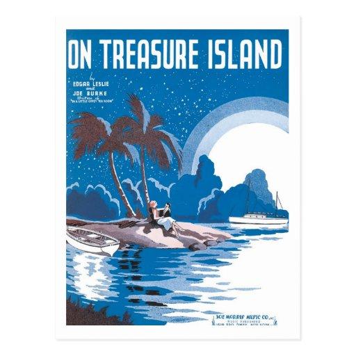 Vintage Treasure Island Cover
