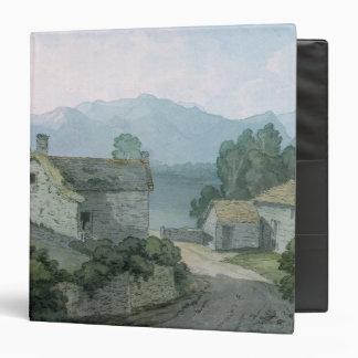 On Ullswater Cumberland 1791 Binder