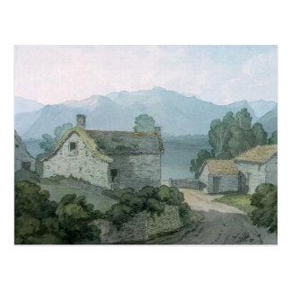 On Ullswater, Cumberland, 1791 Postcard