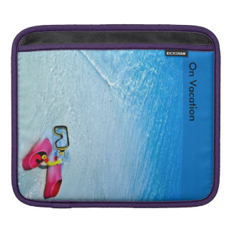 On Vacation image for iPad pad Horizontal Sleeves For iPads