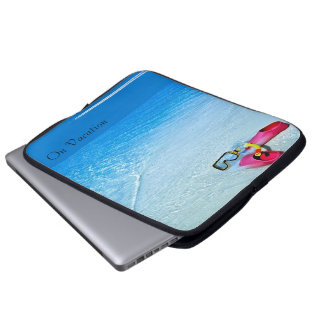 On Vacation image for Neoprene Laptop Sleeve