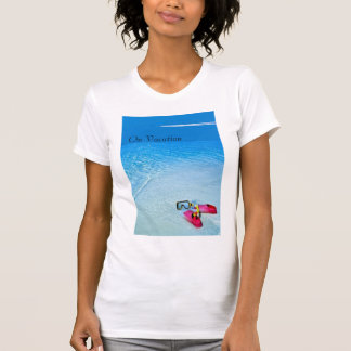 On Vacation image for women's t-shirt