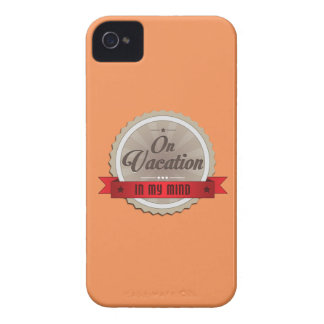 On Vacation In My Mind iPhone 4 Case-Mate Case