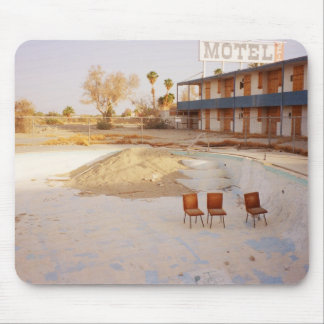 On Vacation: Let's Relax in the Pool! Mouse Pad