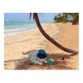 On Vacation Postcard