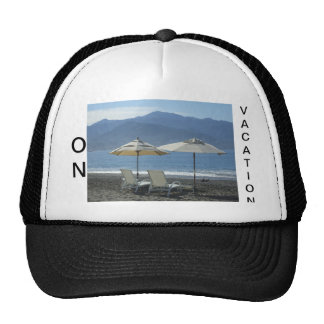 On Vacation Truckers Hat