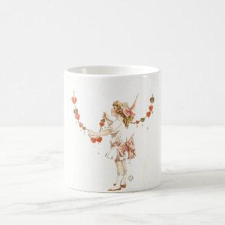 On Valentine's Day Vintage Valentine Card Coffee Mug