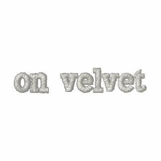 on velvet men's shirt embroidered shirt