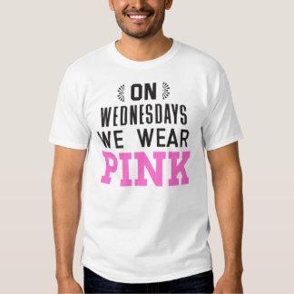 On Wednesdays We Wear Pink T Shirt