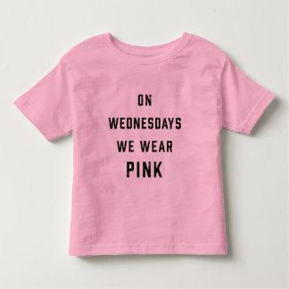 On Wednesdays We Wear Pink   Vintage Toddler T-shirt