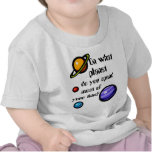 On What Planet do you Spend Most of your Time? Tshirt