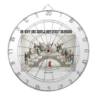 On Why One Should Not Start Drinking ... (Psyche) Dartboards