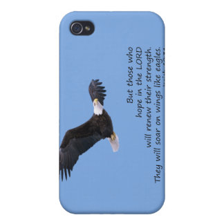 On Wings Like Eagles iPhone 4 Case