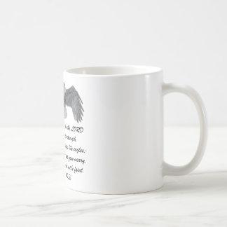 On wings like Eagles - Is 40:31 Coffee Mug