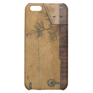 on wood case for iPhone 5C