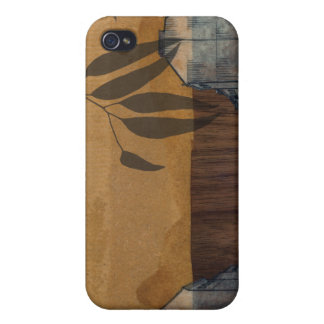 on wood iPhone 4/4S cover