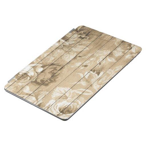 on-wood-vintage-wood-nostalgic iPad air cover