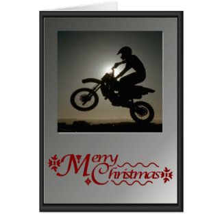 On your bike! greeting card