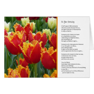 On Your Birthday, It isn't easy to find... Greeting Card
