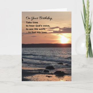 On Your Birthday, Take Time...Religious