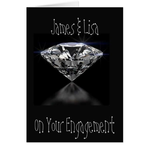 ON YOUR ENGAGEMENT GREETING CARD