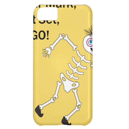 On Your Mark Get Set GO.ai iPhone 5C Case