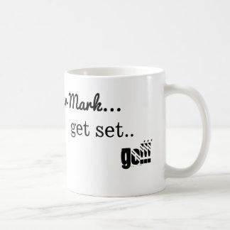 On your mark get set go mug