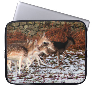 On your marks (deer) computer sleeve