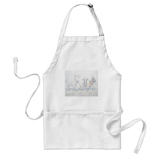 On your marks standard apron