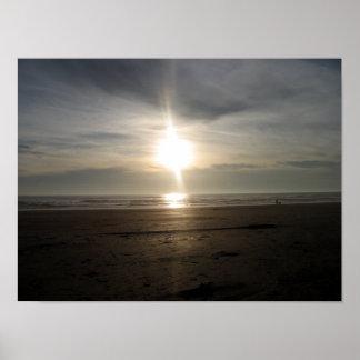 Ona Beach - Sun on the Sand Poster