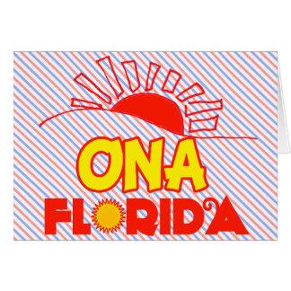 Ona, Florida Card