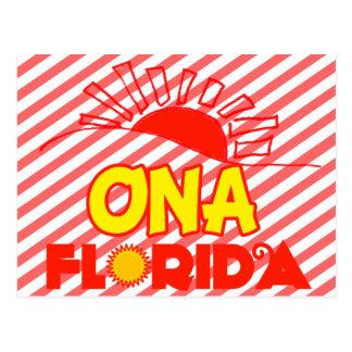 Ona, Florida Postcard