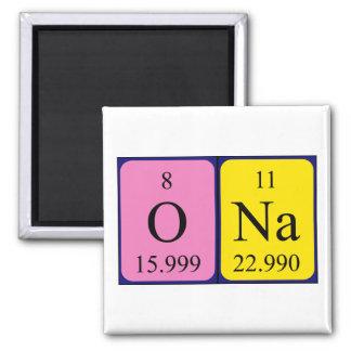 Ona periodic table name magnet