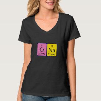 Ona periodic table name shirt