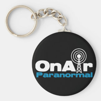 OnAir Paranormal Logo for Dark Colors Keychains