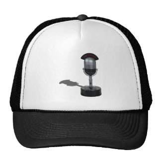 OnAirPillMicrophone042211 Trucker Hat