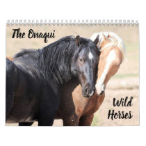 Onaqui Wild Horses Calendar